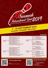 Sarawak International Open Tenpin Bowling Championship 2019