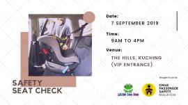 Kuching Child Safety Seat Check