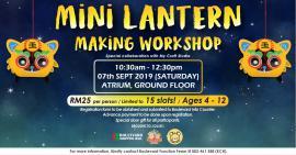 Mini Lantern Making Workshop