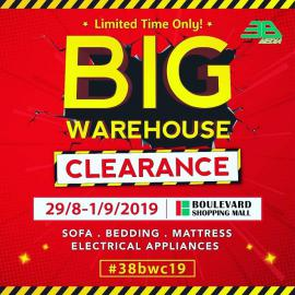 BIG Warehouse Clearance
