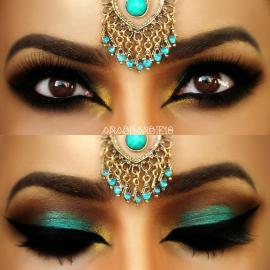 Kursus Kecantikan : Bollywood Makeup